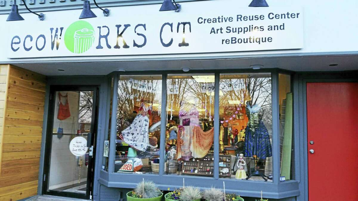 EcoWorks, located at 262 State St., New Haven, is a creative reuse center and re-boutique geared toward providing local artists and educators with affordable art supplies.