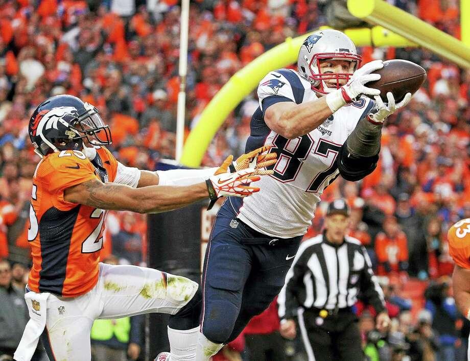 New England Patriots tight end Rob Gronkowski. Photo: The Associated Press File Photo   / AP