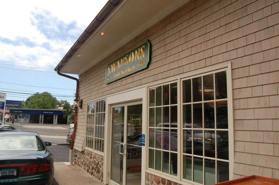 After a massive fire nearly destroyed the building last year, Swanson's Fish Market on 2439 Black Rock Turnpike has reopened. Photo: Anthony Karge / Fairfield Citizen