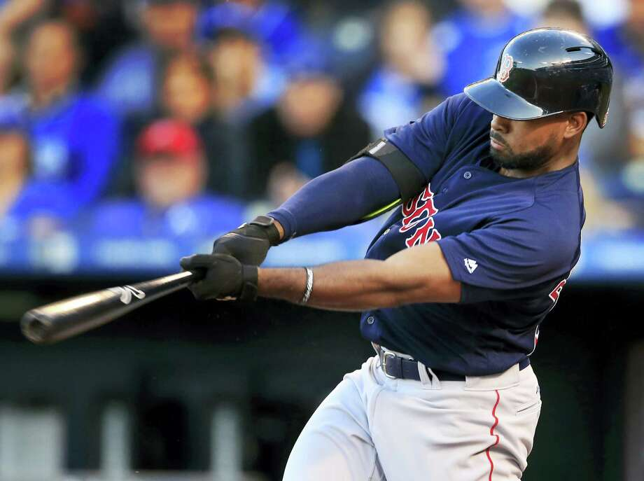 Jackie Bradley Jr. will enter Tuesday's game against the Rockies with a 27-game hitting streak. Photo: Orlin Wagner — The Associated Press   / Copyright 2016 The Associated Press. All rights reserved. This material may not be published, broadcast, rewritten or redistribu