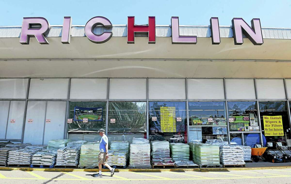 Richlin hardware/automotive/home and garden store in Branford photographed on June 7.