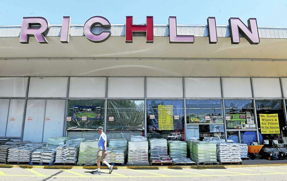 Richlin hardware/automotive/home and garden store in Branford photographed on June 7. Photo: Arnold Gold — New Haven Register