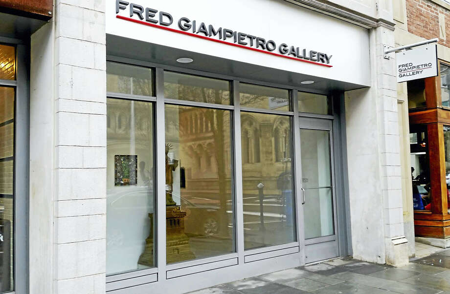 Fred Giampietro Gallery in New Haven. Photo: PHOTO BY JASON C. DIAZ — NEW HAVEN REGISTER