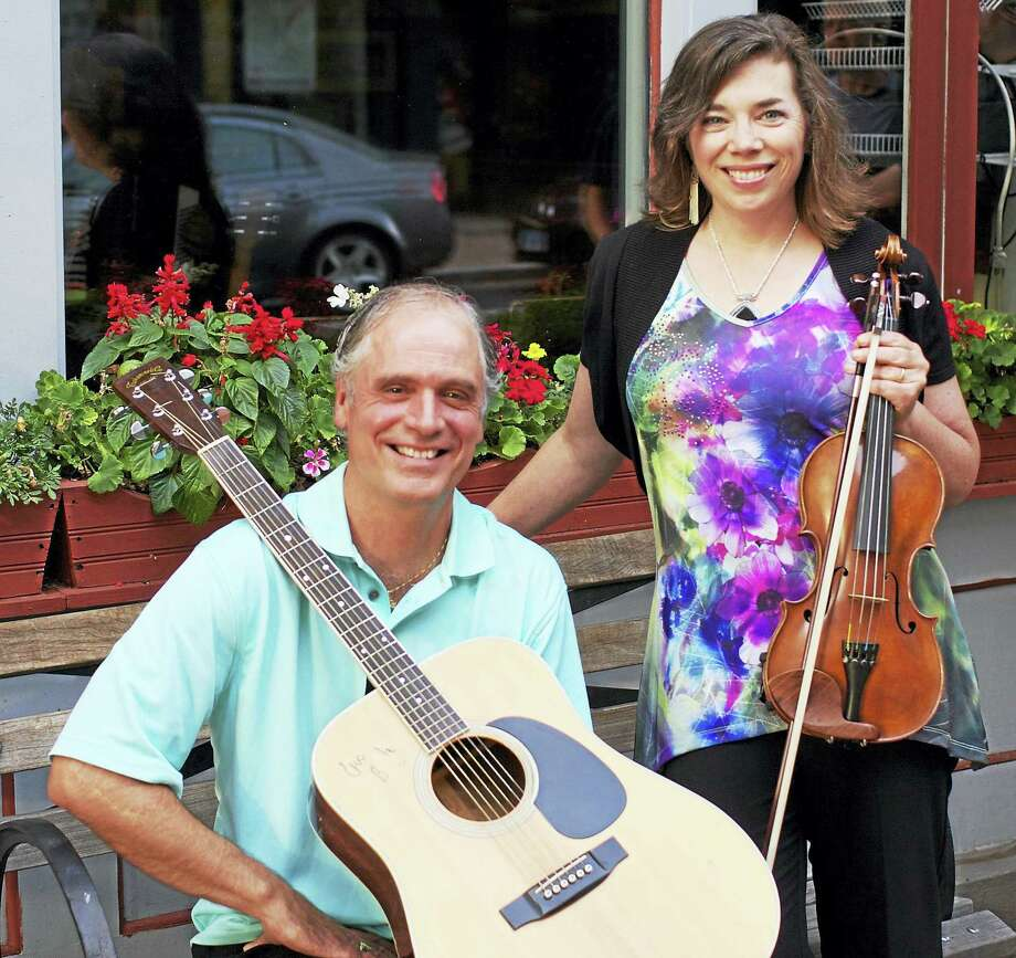 Contributed photo  ESSEX: Come celebrate all things Irish as the Essex Library presents the celebrated musical duo Ringrose & Freeman for an evening of Irish and Celtic music on Thursday, March 3 from 7-8 p.m. in the library's Program Room. Admission is free and open to all. Please call the Essex Library at 860-767-1560 to register in advance as seating is limited. The Essex Library is located at 33 West Avenue in Essex. Photo: Journal Register Co.