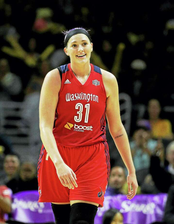 Washington Mystics center and former UConn standout Stefanie Dolson. Photo: The Associated Press File Photo   / AP