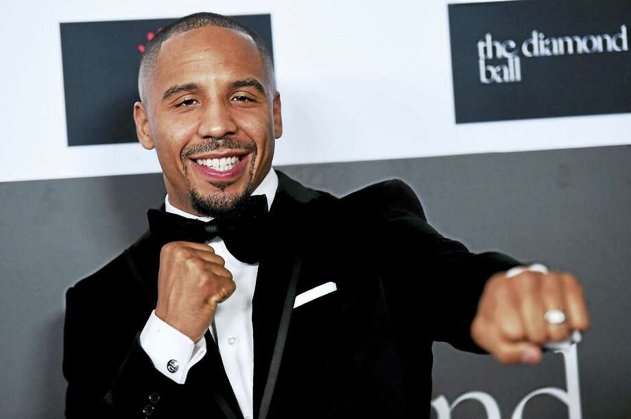 Andre Ward attends the 2nd Annual Diamond Ball at The Barker Hangar on December 10, 2015 in Santa Monica, Calif. Photo: Photo By Jordan Strauss/Invision/AP   / Invision