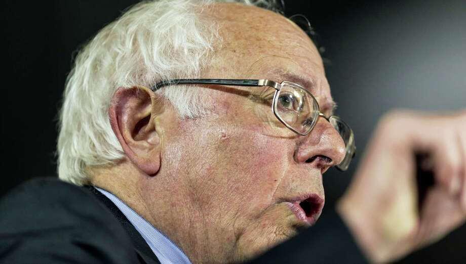Democratic presidential candidate Sen. Bernie Sanders speaks at a campaign stop on March 26, 2016 in Madison, Wis. Photo: AP Photo/Andy Manis   / FR19153 AP