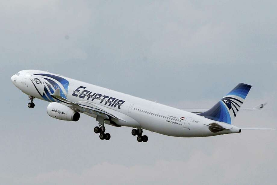 An EgyptAir Airbus A330-300 takes off for Cairo from Charles de Gaulle Airport outside of Paris, Thursday, May 19, 2016. An EgyptAir flight from Paris to Cairo with 66 passengers and crew on board crashed in the Mediterranean Sea early Thursday morning off the Greek island of Crete, Egyptian and Greek officials said. Photo: AP Photo — Christophe Ena    / AP