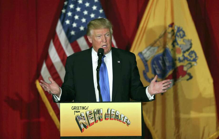 Republican presidential candidate Donald Trump speaks in Lawrenceville, N.J. Photo: AP Photo — Mel Evans, File / Copyright 2016 The Associated Press. All rights reserved. This material may not be published, broadcast, rewritten or redistribu