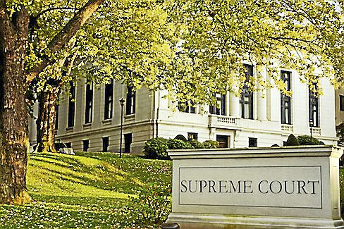 A view of the Connecticut Supreme Court building