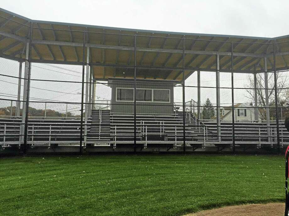 Rochford Park has been completely renovated and will play host to an Old Timers game Saturday. Some 75 former players from different eras will take part in the reunion event. Photo: CONTRIBUTED PHOTO