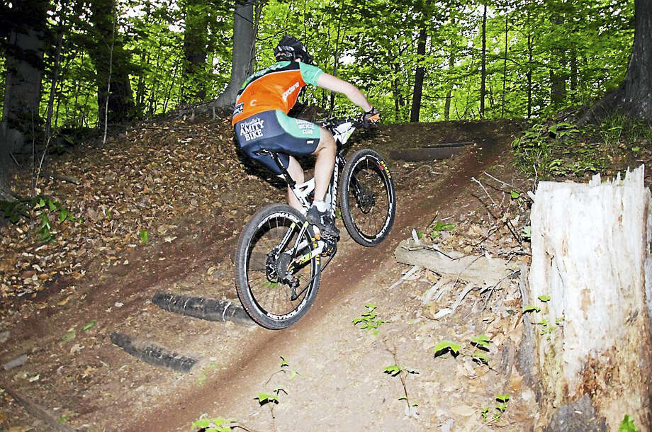 West Rock Nature Center is known for having some of the best mountain bike riding in the state. (Martin Torresquintero - Submitted Photo) Photo: Journal Register Co.