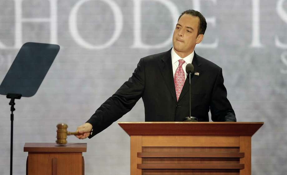 Chairman of the Republican National Committee Reince Priebus Photo: File Photo   / AP