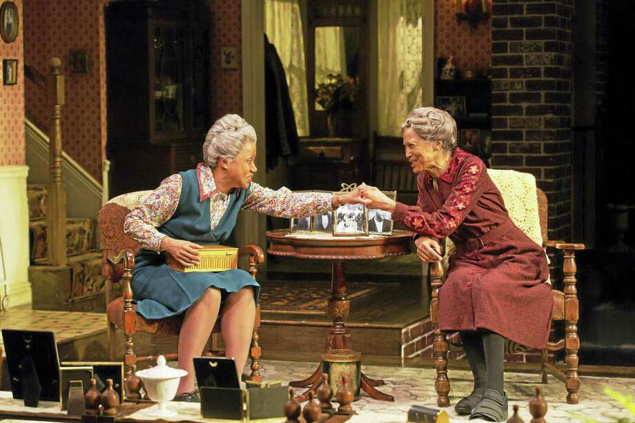 Brenda Pressley, left, and Olivia Cole are the Delany sisters. Photo: Photo Courtesy Of T. Charles Erickson — Long Wharf Theatre