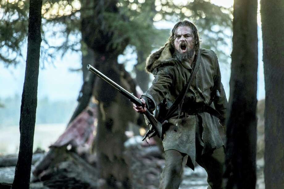 "This photo released by Twentieth Century Fox shows shows Leonardo DiCaprio wearing a costume designed by Jacqueline West in a scene from the film, ""The Revenant."" West is nominated for costume design for her work on the film, ""The Revenant."" The 88th Academy Awards will be held on Sunday, Feb. 28. (Twentieth Century Fox via AP) Photo: AP / Twentieth Century Fox"