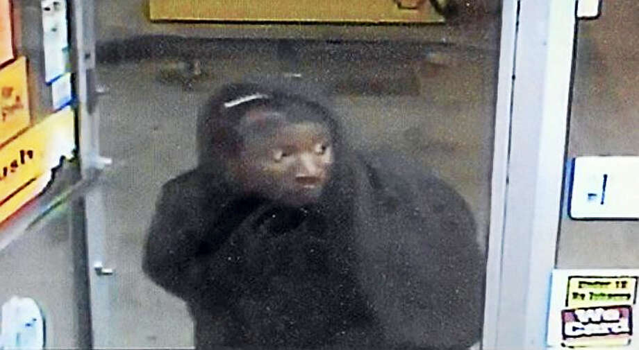 Police are looking for a man who allegedly held up the Shell gas station at 141 Willow St. at gunpoint over the weekend. The man made off with about $500. Photo: Photo Courtesy Of The New Haven Police Department