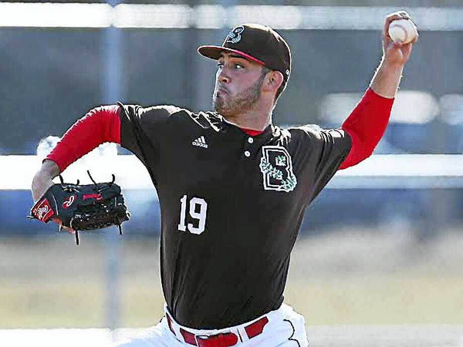 Orange's Austin French, who just completed a four-year career at Brown University, was drafted by the Los Angeles Dodgers last week. Submitted photo Photo: Journal Register Co.
