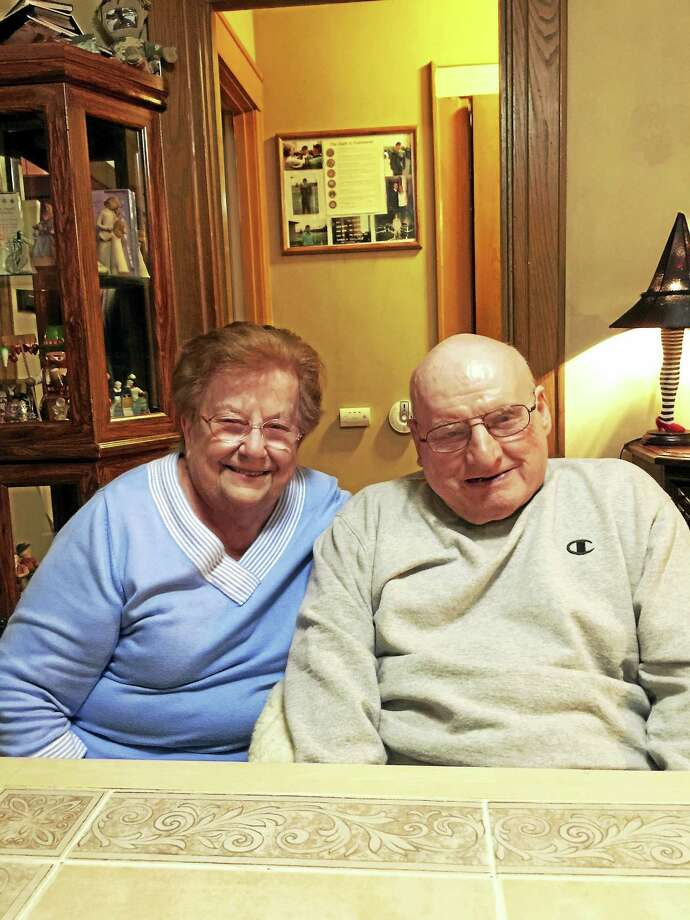 Mildred and Jeremiah Coady Photo: Journal Register Co.