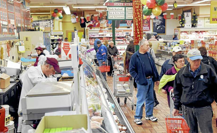 The deli department at Ferraro's Market at 664 Grand Ave. in New Haven, in this December 2014 photo. Photo: PETER HVIZDAK — NEW HAVEN REGISTER FILE PHOTO   / ©2014 Peter Hvizdak