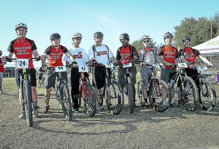 The Berlin High School Red Riders team at last year's Breakaway Benefit ride. Photo: Contributed