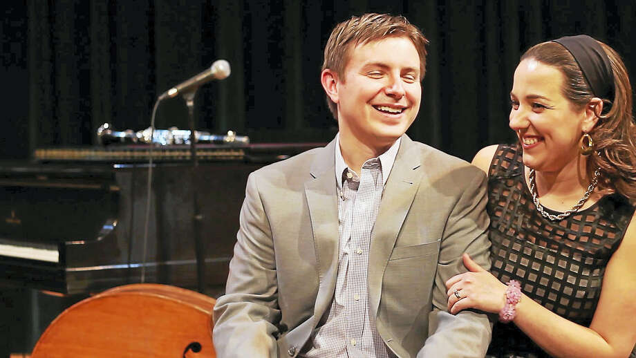 Matt and Atla DeChamplain. Photo: DeChamplain Trio