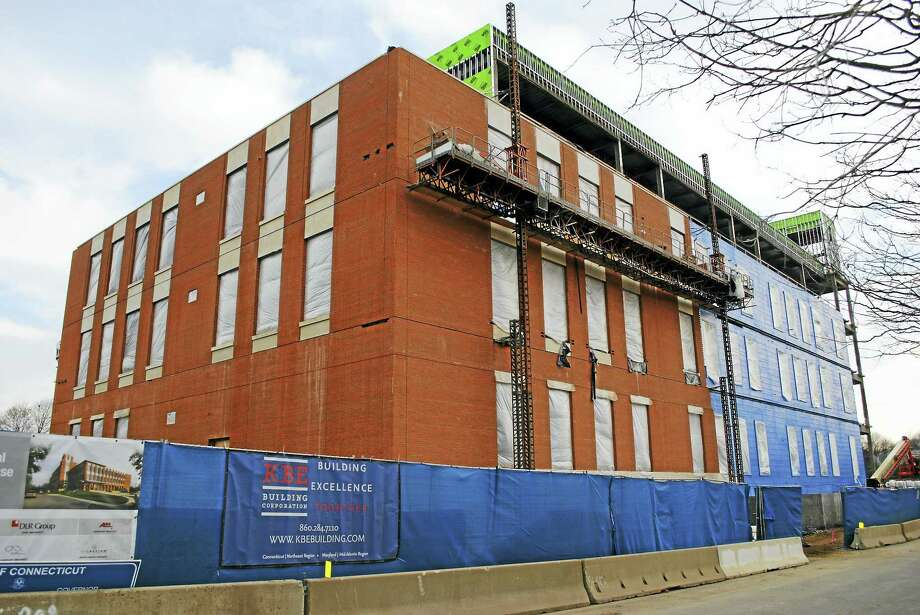 The new Litchfield County courthouse on Field Street in Torrington seen in December 2015. Photo: Register Citizen File Photo