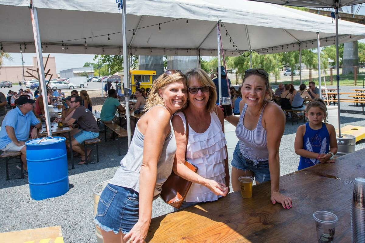 Top burgers from around the Lone Star State were put on display Sunday, June 23, 2017, at Alamo Beer for the Texas Sized Blended Burger Bash. Five chefs competed in the James Beard Foundation's Blended Burger Project for a chance to cook in the James Beard House in New York City.