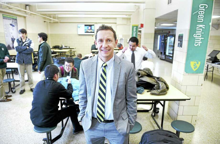 Robert Curis, president of Notre Dame High School in West Haven, is photographed on Tuesday, Jan. 26, 2016. Photo: ARNOLD GOLD — NEW HAVEN REGISTER