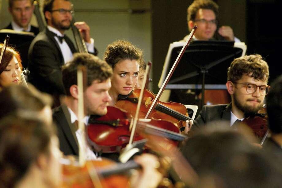 Members of the Yale Philharmonia of the Yale School of Music. Photo: Bob Handelman — School Of Music   / Bob Handelman