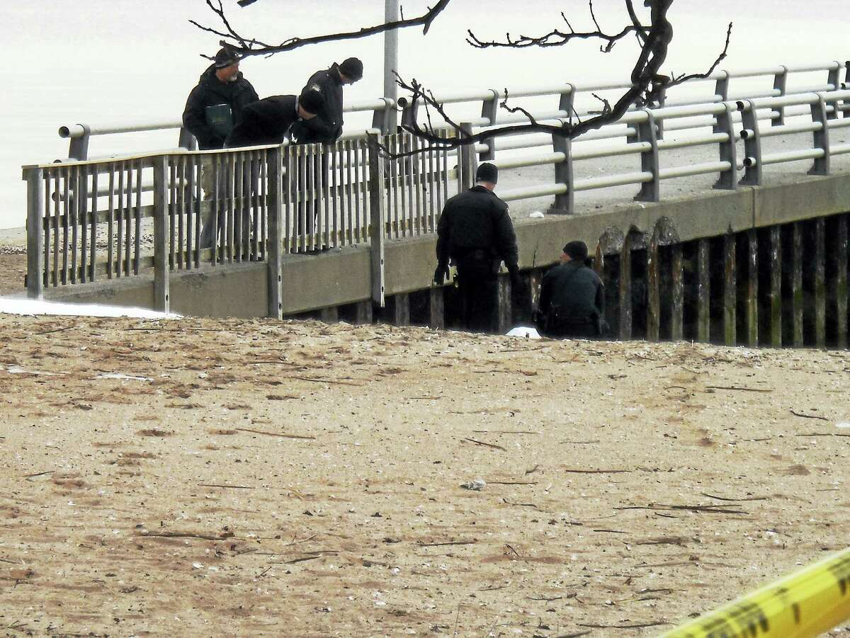 West Haven police are investigating after a man's body was found Friday morning in the water near Oak Street.