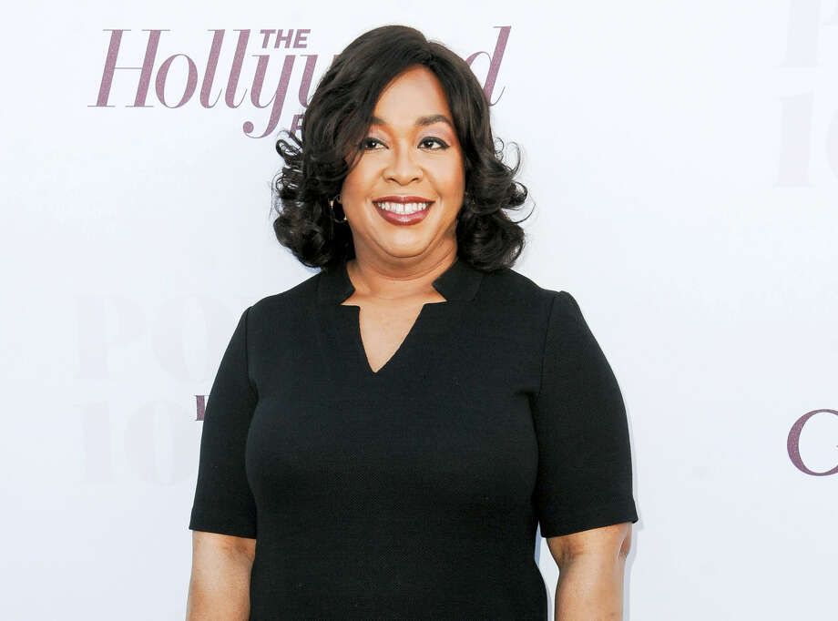 "In this Dec. 10, 2014 photo, Shonda Rhimes arrives at the The Hollywood Reporter's Women In Entertainment Breakfast in Los Angeles. Rhimes is arguably the most powerful producer in television these days. ABC has turned over to her its entire Thursday night lineup, where she delivers weekly episodes of ""Grey's Anatomy,"" ""Scandal"" and ""How to Get Away With Murder."" Photo: Photo By Richard Shotwell/Invision/AP, File   / Invision"