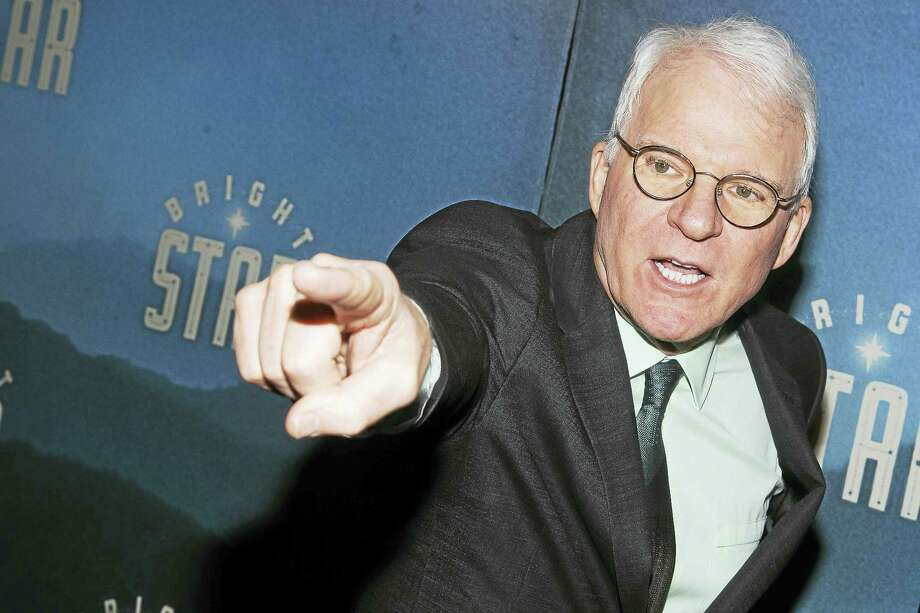 """Charles Sykes/AP photo  Steve Martin attends the New York after-party for another of his theatrical efforts, """"Bright Star,"""" in March. Photo: Charles Sykes/Invision/AP / Invision"""