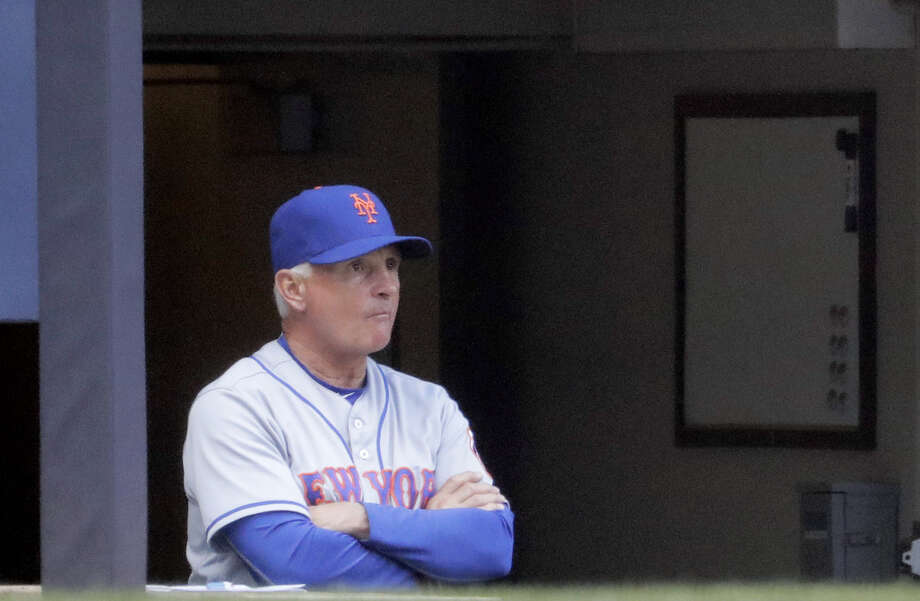 Mets manager Terry Collins looks on during the third inning on Saturday. Photo: Morry Gash — The Associated Press   / AP