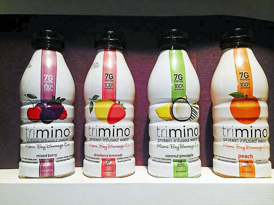 Drinktrimino.com  The protein-infused product trimino. Photo: Journal Register Co.