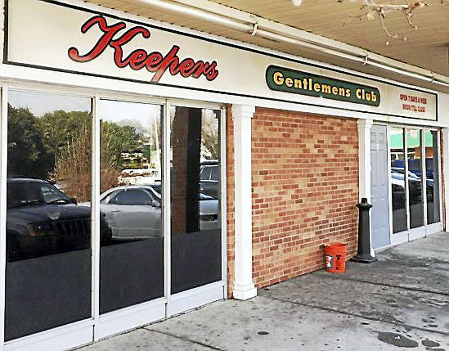 Screenshot via ctpost.com of Keepers Gentlemen's Club on Woodmont Road in Milford. Photo: Journal Register Co.