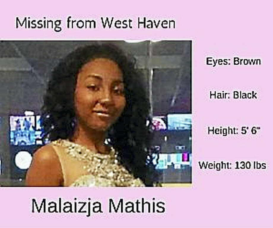 Malaizja Mathis (photo courtesy of West Haven Police Department) Photo: Journal Register Co.
