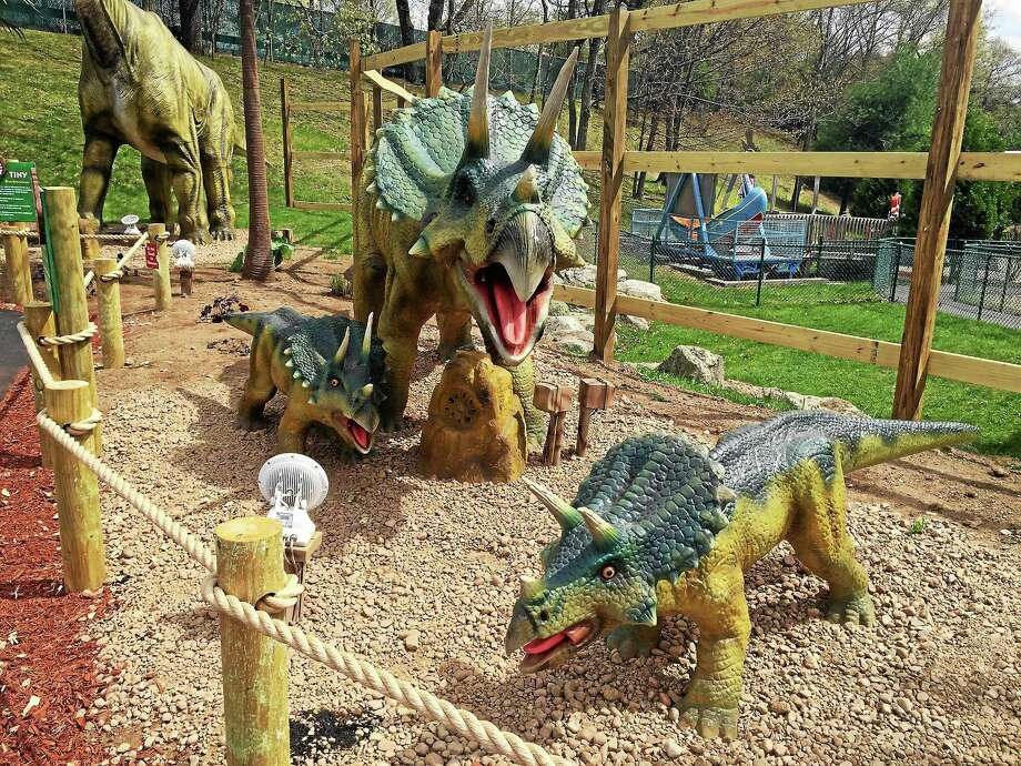 Rick Sandella — New Haven Register  Dino Expedition at Lake Compounce in Bristol is now part of the Connecticut Dinosaur Trail. Photo: Journal Register Co.