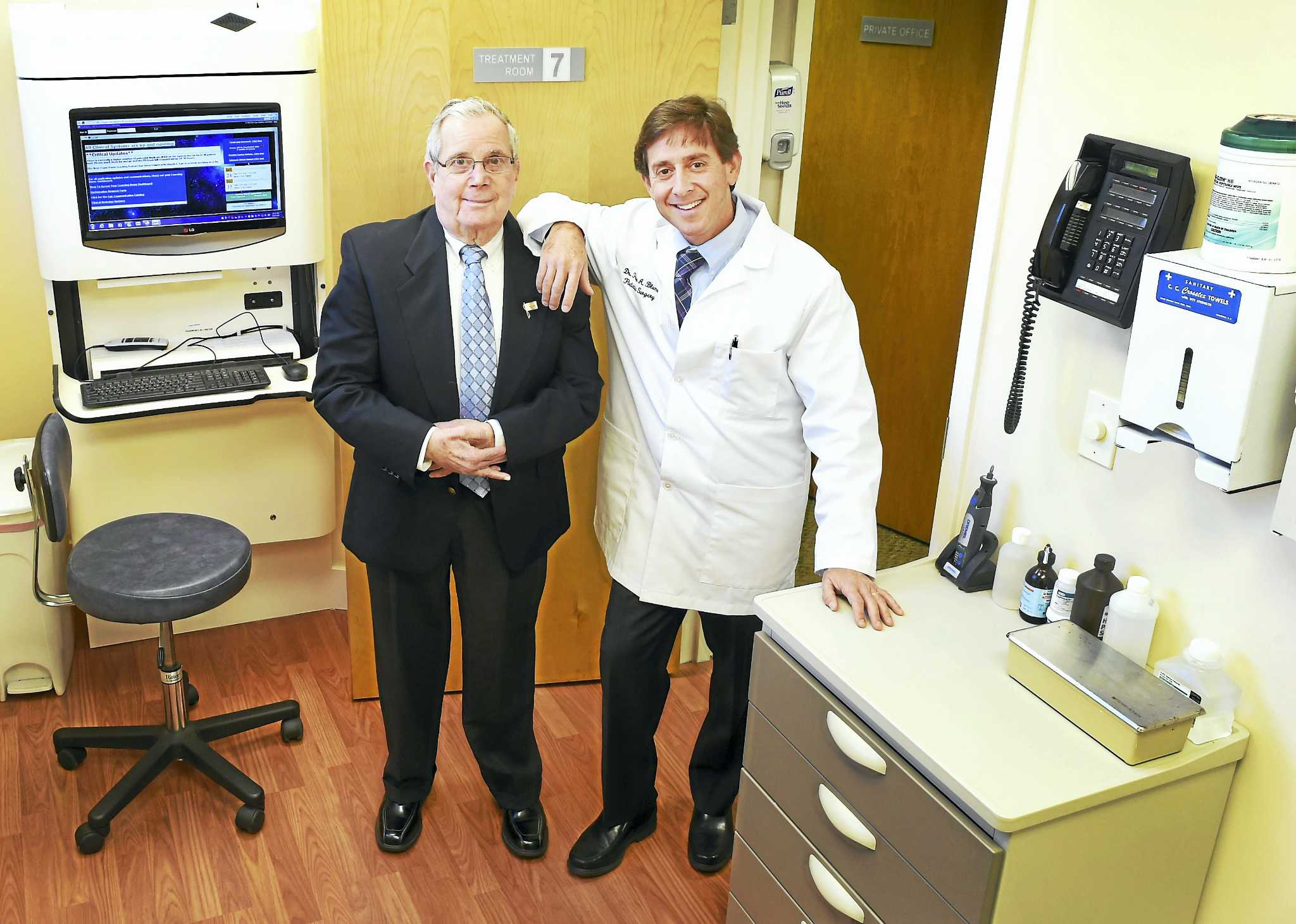 New Haven Father Son Podiatrists See Big Steps Over 59 Years New