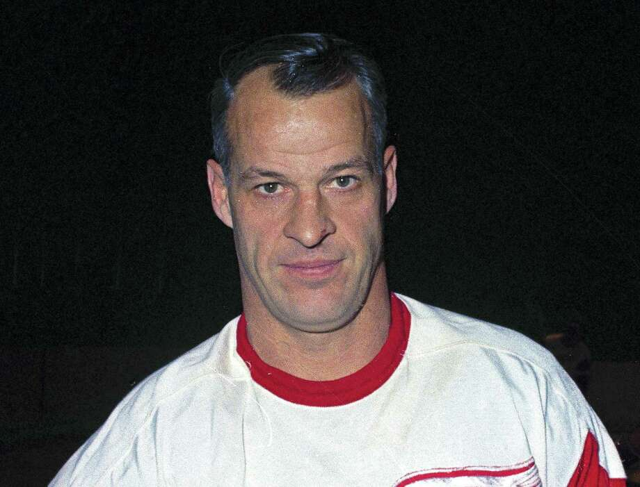 This 1967 file photo shows Detroit Red Wings hockey player Gordie Howe. Howe, the rough-and-tumble Canadian farm boy whose boundless blend of talent and toughness made him the NHL's quintessential star during a career that lasted into his 50s, has died. He was 88. Photo: The Associated PRess   / 2007 AP