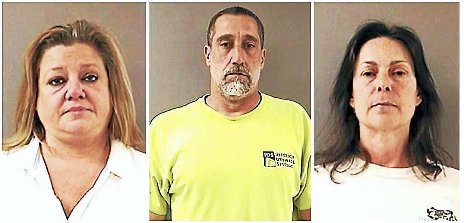 From left: Kathryn Vanlinter, Edmund Wambolt and Debra Mercurio Photo: Photos Courtesy Of Wallingford Police Department