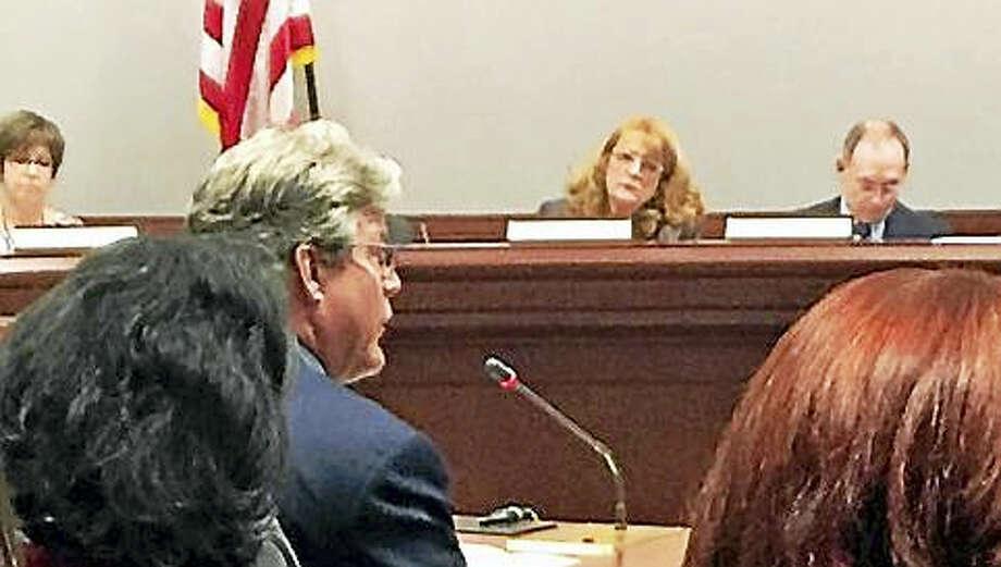 State Sen. Ted Kennedy Jr. testifies at an unrelated public hearing. Photo: JACK KRAMER — CT NEWS JUNKIE