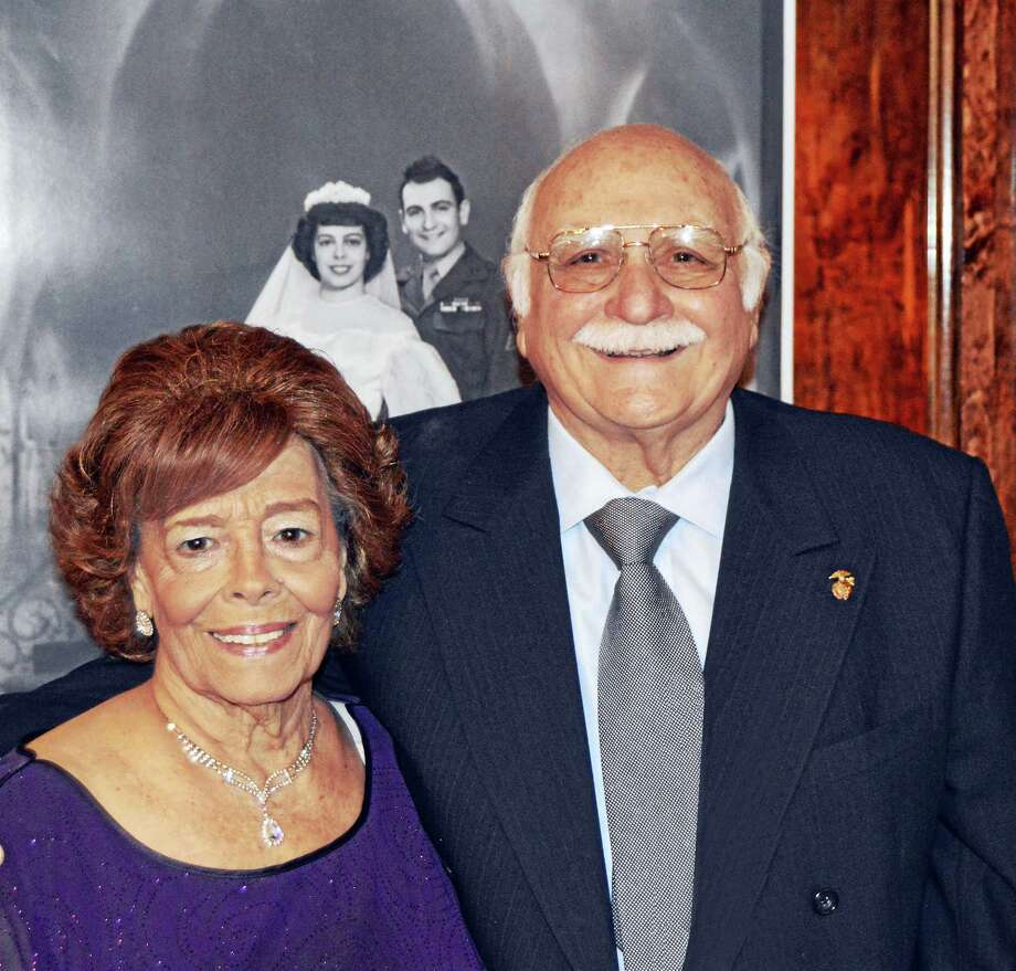 Felix and Rose Del Giudice Photo: Journal Register Co.