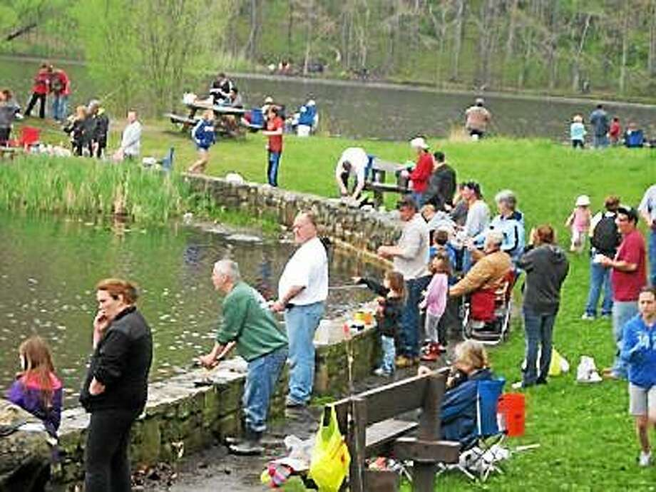 The 2014 annual fishing rodeo hosted by the Derby Elks in Derby. Photo: Contributed File Photo