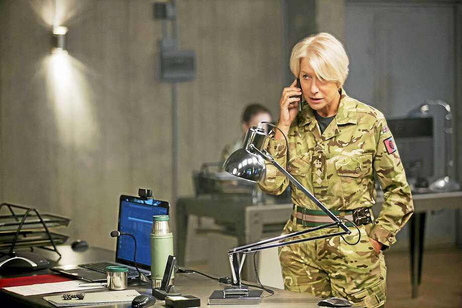"Helen Mirren stars as Colonel Katherine Powell in ""Eye in the Sky."" Photo: Keith Bernstein — Bleecker Street   / © Bleecker Street"