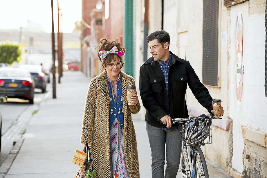 "Sally Field and Max Greenfield in ""Hello, My Name Is Doris."" Photo: Aaron Epstein — Roadside Attractions   / © 2016 - Roadside Attractions"