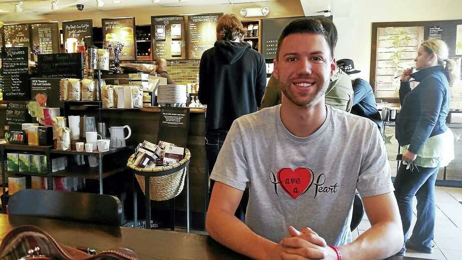 Bobby Palmieri started the nonprofit 'Have a Heart' to provide scholarships to students who have lost a parent to heart disease. Photo: Kate Ramunni — New Haven Register