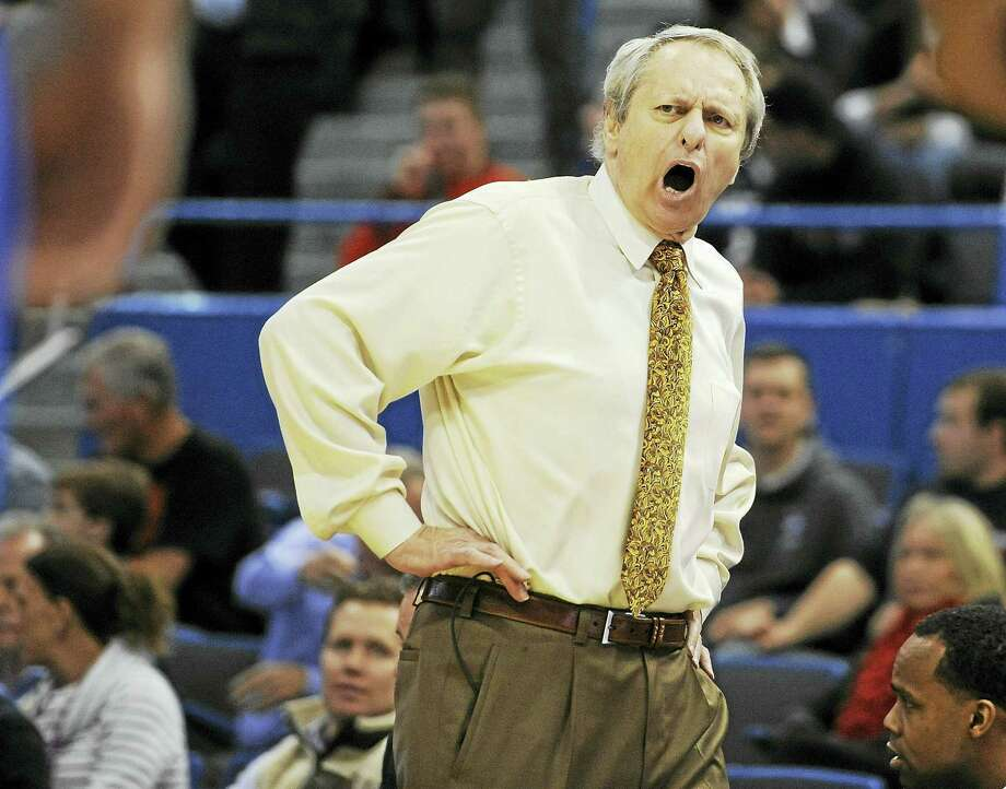 Central Connecticut State head coach Howie Dickenman will retire at the end of the current season. Photo: The Associated Press File Photo   / FR125654 AP