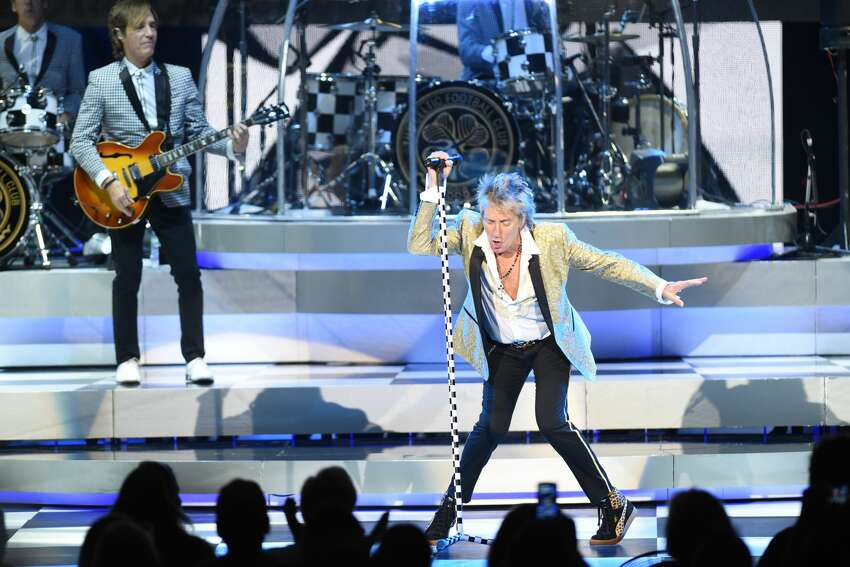 Rod Stewart is returning to SPAC this summer. Keep clicking for more concerts and shows so far in the 2020 lineup. In photo, Rod Stewart performs at SPAC in 2017.