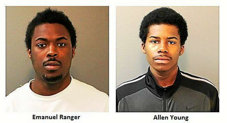Emanuel Ranger and Allen Young Photo: Photos Courtesy Of The Shelton Police Department