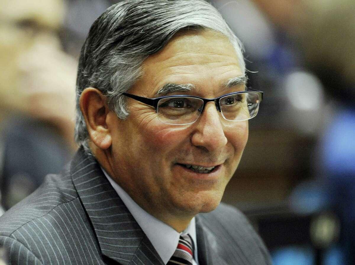 State Senate Minority Leader Len Fasano, R-North Haven